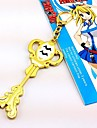 Smycken Inspirerad av Fairy Tail Cosplay Animé Cosplay Accessoarer Halsband Guld Legering Kvinna