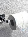 toalettpappershållare, rostfritt stål krom badrum tillbehör