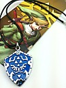Smycken Inspirerad av The Legend of Zelda Cosplay Animé/ Videospel Cosplay Accessoarer Halsband Blå Legering Man