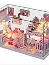bricolage cabine de princesse de rêve avec des lumières sonores contrôlée