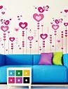 muraux décoratifs style amour romantique autocollants stickers muraux