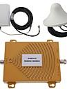 gsm / DCS 900 / 1800MHz tvåbandstelefon signal booster förstärkare antenn kit