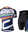 MYSENLAN Cykel/Cykelsport Klädesset/Kostymer Herr Kort ärmHög andningsförmåga (>15,001g) / Ultraviolet Resistant / Fuktgenomtränglighet /