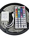 z®zdm 5m 300x5050 cms rgb conduit de lumière de bande avec télécommande 44key (DC12V)