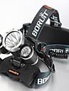 Belysning Pannlampor / Cykellyktor LED 5000 Lumen 4.0 Läge Cree XM-L T6 18650 Vattentät / Laddningsbar / Stöttålig