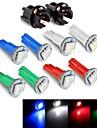 tableau de bord ampoule du tableau de bord DC12V 0.2W LED T5 5050SMD bleu rouge vert blanc + prise 10pcs jhk784001