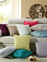 Solid Chenille Coussin