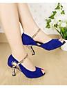 Sandales latines personnalisées Femmes strass chaussures de danse (plus de couleurs)