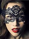 Masque Cosplay Fête / Célébration Déguisement Halloween Noir Lace / Couleur Pleine Masque Halloween Unisexe Dentelle
