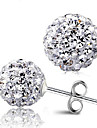 rena kvinnor 925 silverpläterade högkvalitativa handarbete eleganta örhängen