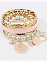 Joker de mode bracelet bohème imitation de perles de Miki femmes