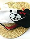 Mask Inspirerad av Dangan Ronpa Cosplay Animé/ Videospel Cosplay Accessoarer Mask Vit / Svart Barn