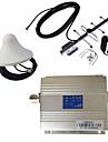 nya lcd gsm 900MHz mobiltelefon signal booster förstärkare + antenn kit