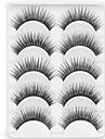 Nouvelle longue épaisse œil 5 paires naturel noir faux cils tendre des cils cils pour les extensions des yeux