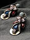 manluo västerländsk stil mode legering örat örhängen