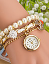 Wanbao dammode pärla hängande armband klocka