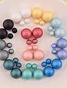 Cercei Stud Perle Reșină 7 8 9 10 11 Bijuterii Pentru Nuntă Petrecere Zilnic Casual Sport