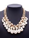 la mode perles strass collier de femmes éternité