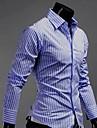 INMUR brodat Stripes piele mânecă lungă
