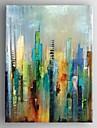 Peint à la main Abstrait Verticale,Moderne Style européen Un Panneau Toile Peinture à l'huile Hang-peint For Décoration d'intérieur