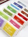 12 culori tusiera pentru ambarcațiunile de hârtie favoruri de partid ziua de nastere dactiloscopice material de pictura album pentru copii de nunta