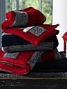 Handduk Enligt bilden,Färgat garn Hög kvalitet 100% Bomull Handduk