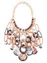 JQ smycken kvinnors vintage tofsar halsband