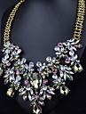 mts västerländsk stil mode blomma waterdrop pärla halsband
