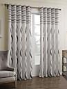 Två paneler Fönster Behandling Barock Bedroom Polyester Material gardiner draperier Hem-dekoration For Fönster