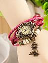 wanbao la mode de montre bracelet de tissage des femmes