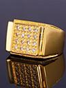 Inele Midi Verighete Zirconiu Cubic Zirconiu Zirconiu Cubic Pietrele Lunilor Argintiu Auriu Bijuterii Nuntă Petrecere Zilnic Casual Sport