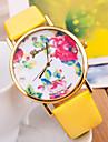 wanbao la mode de montre bracelet de fleurs des femmes