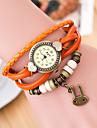 Wanbao kvinnors vintage väva armband klocka