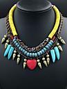 moro europeisk stil lyxiga tofsar necklace_necklace: 50 + 7cm # n0028