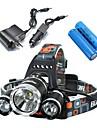 Eclairage Lampes Frontales Eclairage de Vélo / bicyclette LED 5000 Lumens 4.0 Mode Cree XM-L T6 18650Etanche Rechargeable Résistant aux