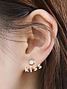 miss u kvinnors alla matcha vintage kyss brev örhängen
