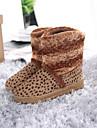 damskor shimandi runda tå snö stövlar med låg klack boots fler färger tillgängliga