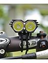 Eclairage Lampes Frontales / Eclairage de Vélo / bicyclette 5000/2500 Lumens Mode Cree XM-L U2 18650Etanche / Rechargeable / Résistant
