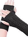 Women's Knitted Warm Short Fingerless Gloves(more colors)