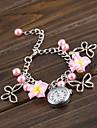 wanbao élégante montre bracelet de fleurs des femmes