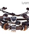 Brățări Bratari Wrap / Bratari din piele Piele  Iubire Zilnic / Casual Bijuterii Cadou Maro