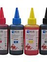 encre à colorant Bloom® approprié pour epson ciss recharge pour epson cartouche d'encre 100ml (4 couleurs 1 lot)