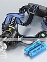 Eclairage Lampes Frontales LED 1200 Lumens 3 Mode Cree XM-L T6 18650 Etanche RechargeableCamping/Randonnée/Spéléologie Usage quotidien