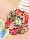 Wanbao dammode väva armband klocka