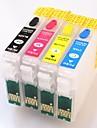 puce permanente pour epson t1811-t1814 cartouche d'encre rechargeable pour epson xp-402 / xp-405 / xp-215 / xp-312 / xp-415