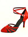 personnalisés fermés orteil satin latin / salle de bal chaussures de performance de danse (plus de couleurs)