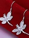 tur docka silver trollslända örhängen