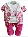 Fata lui Violet / Roșu Floral Amestec Bumbac Primăvară / Toamnă Violet / Roșu