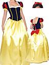 Costume d'Halloween Style élégant danseur princesse Blanche-Neige femmes