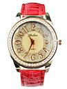 ww kvinnors blommiga print inslagna armband armbandsur